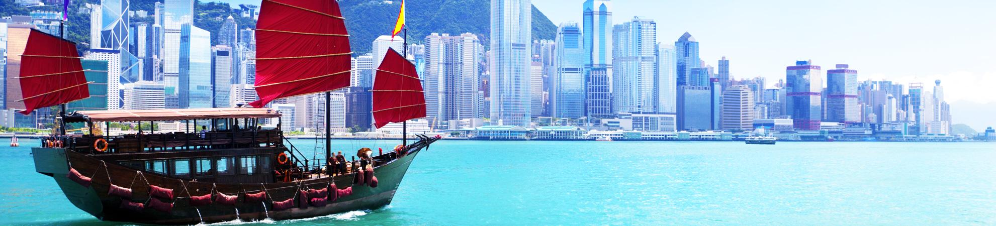Aller en bateau en Chine