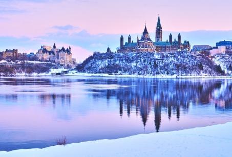 La Magie de l'hiver dans l'Est Canadien