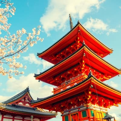Une journée de visite de Kyoto
