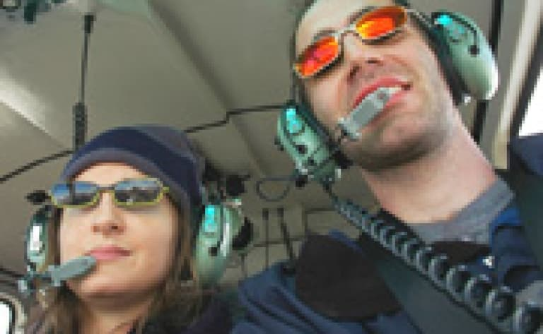 Le survol en hélicoptère des chutes Victoria