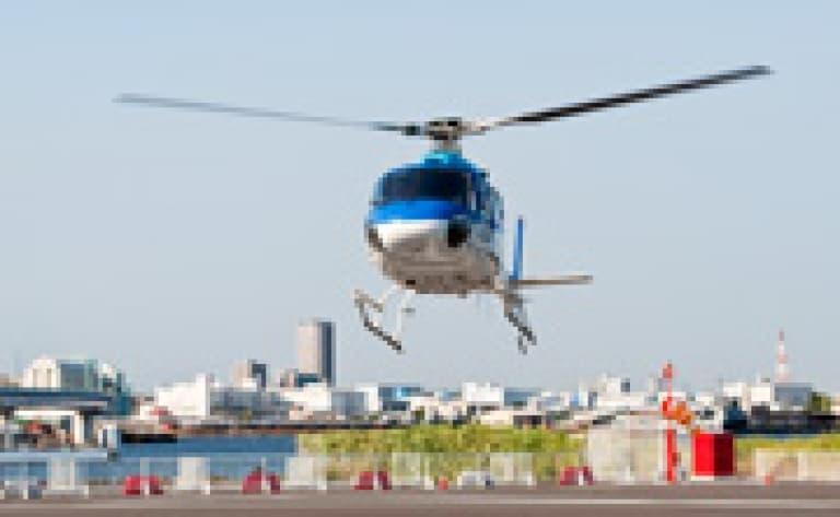 Survol de Tokyo en hélicoptère