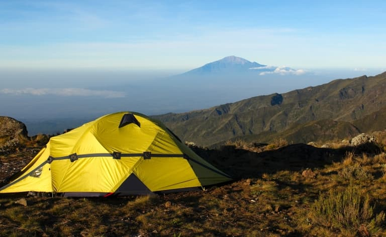 Camp Barranco Hut (3950m)