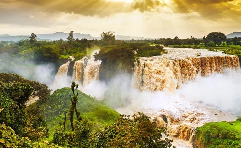 Aux origines du Nil Bleu