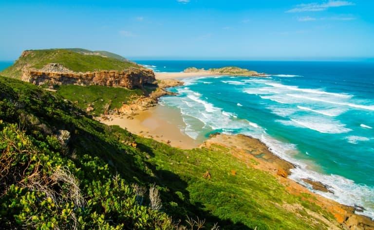 Criques et plages sud africaines