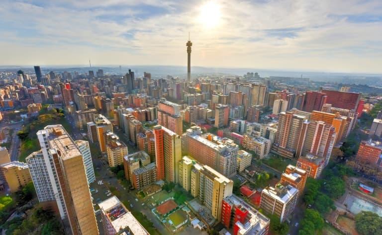 Johannesburg / Paris