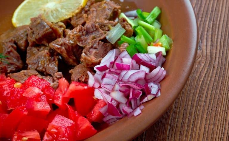 Retour et dîner traditionnel éthiopien