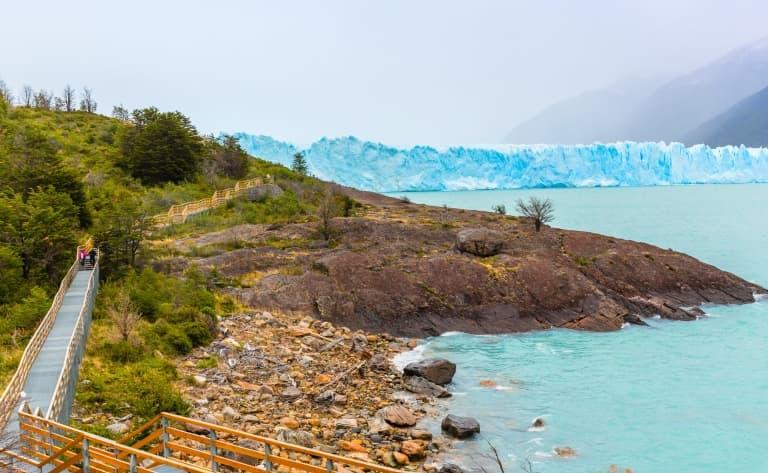 Mini-trekking sur les glaciers