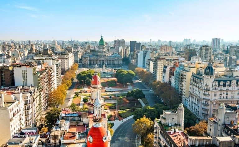 """Arrivée à Buenos Aires, la """"Reine de la Plata"""""""