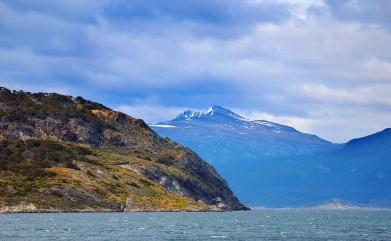 Croisière en catamaran sur le canal de Beagle, baie d'Ushuaïa, Isla de los Lobos
