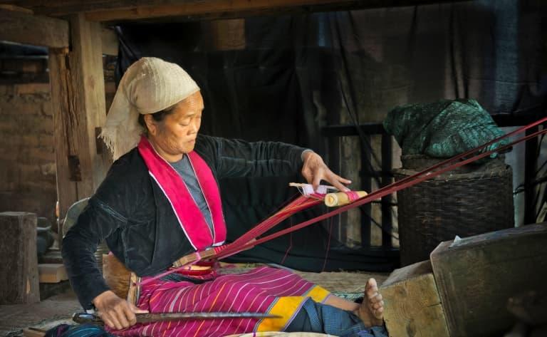 Villages des Palaung et des Lahu