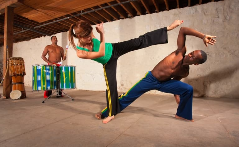 Pelourinho, capoeira et percussions !