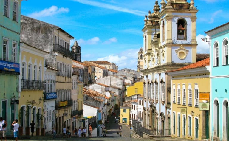 Arrivée à Salvador et découverte de ses quartiers coloniaux