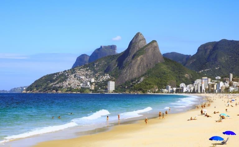 Les sublimes plages de Rio