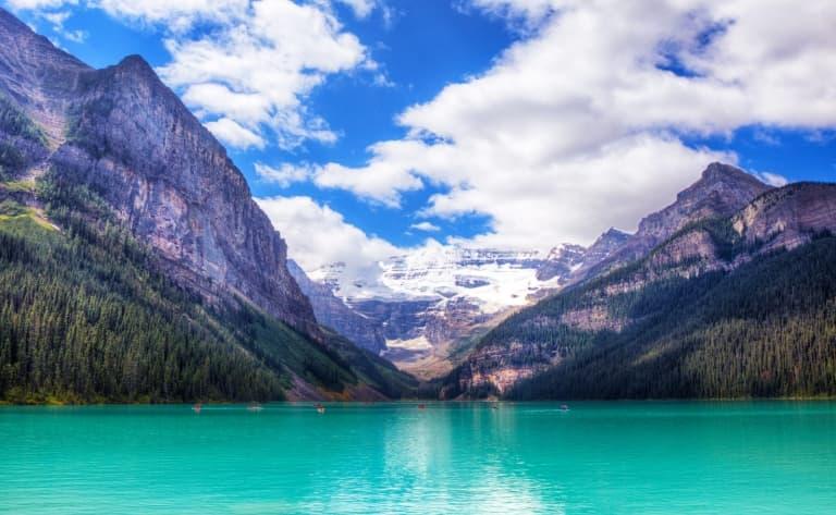 Lake Louise et son eau émeraude
