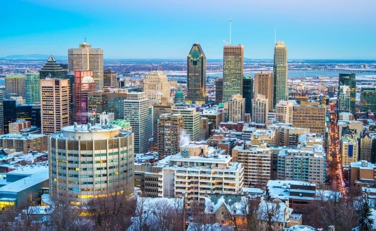 Montréal sous la neige !