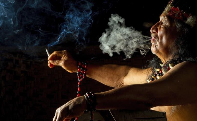 Rencontre avec un shaman