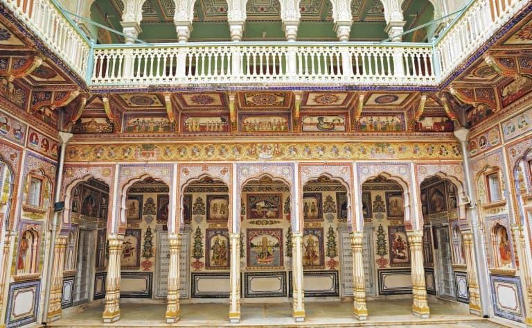 Vers l'Inde profonde du Shekhawati