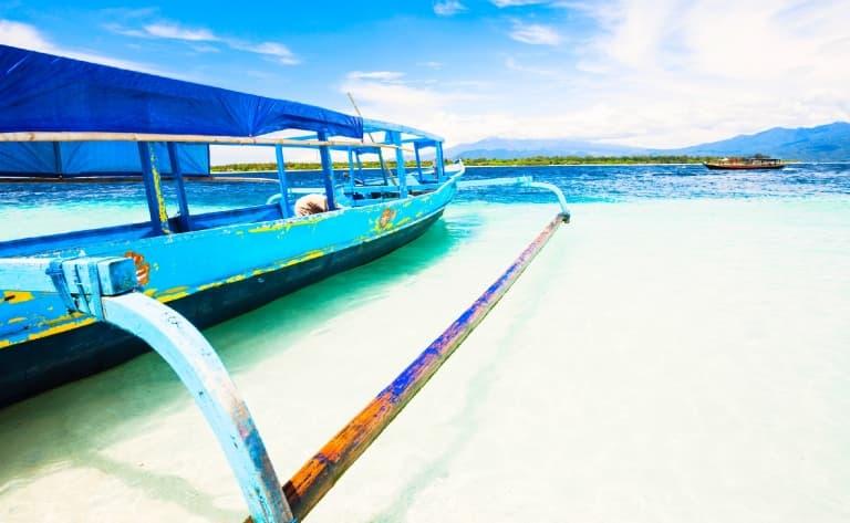 Bateau pour Bali