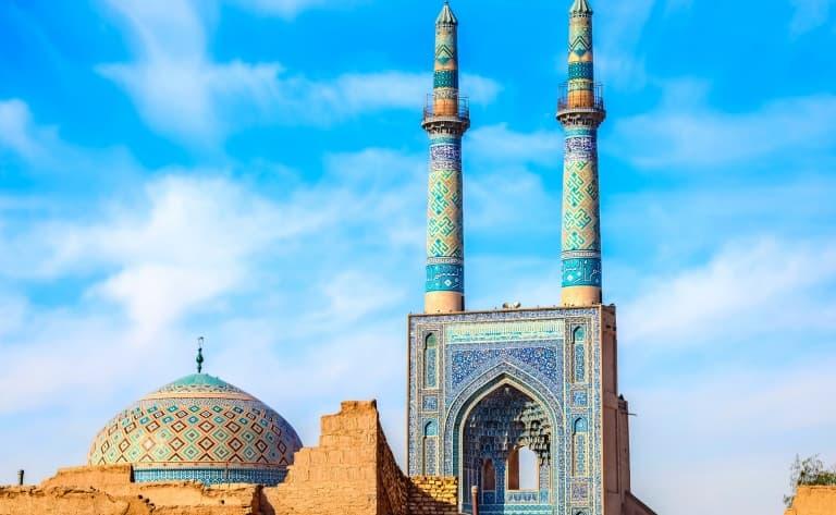 Visite de la ville de Yazd
