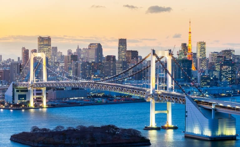 Premier contact avec Tokyo