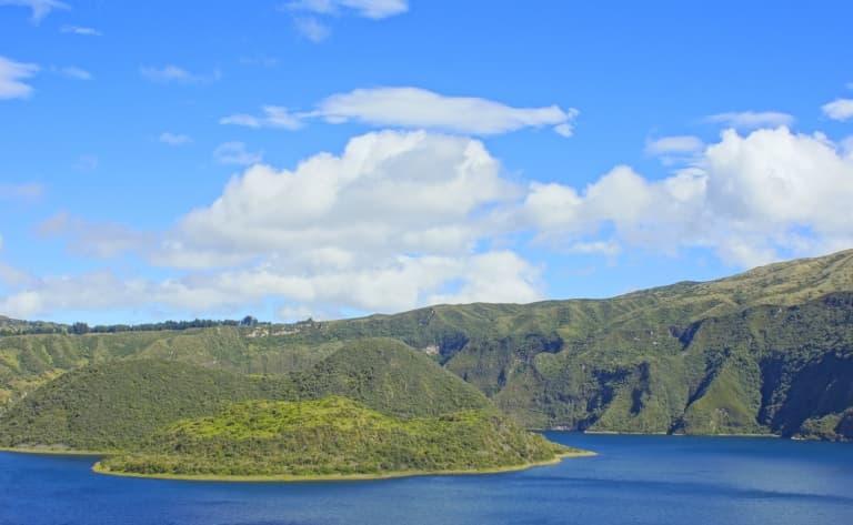 Petits villages de la région des lacs