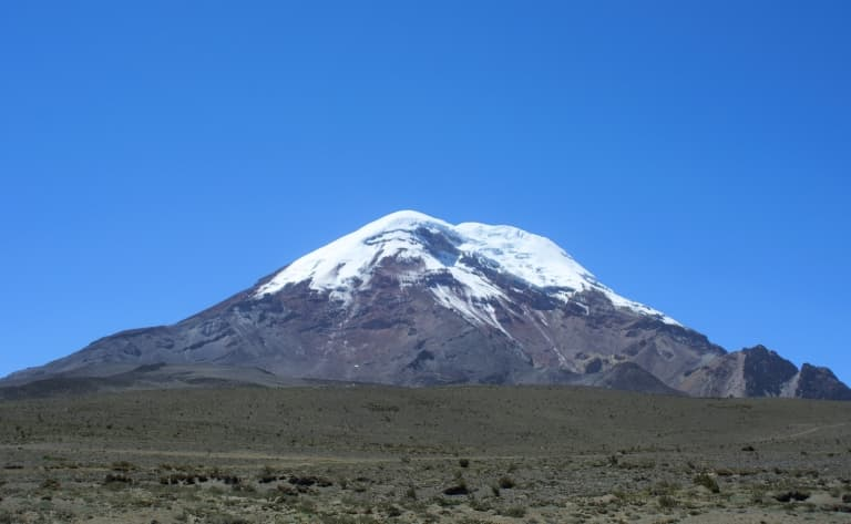 Le plus haut volcan d'Equateur !