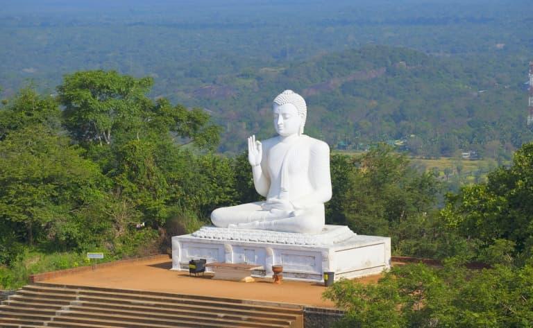 Minintale, berceau du bouddhisme srilankais