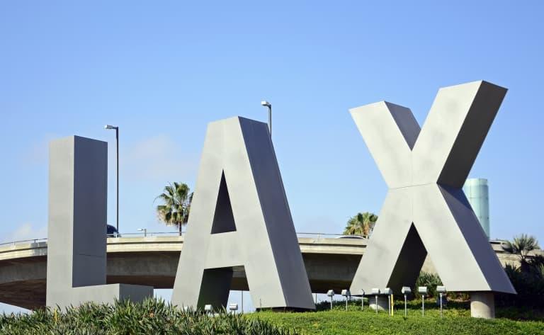 Départ pour Los Angeles