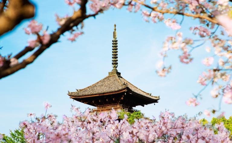 Débarquement et découverte de Kyoto