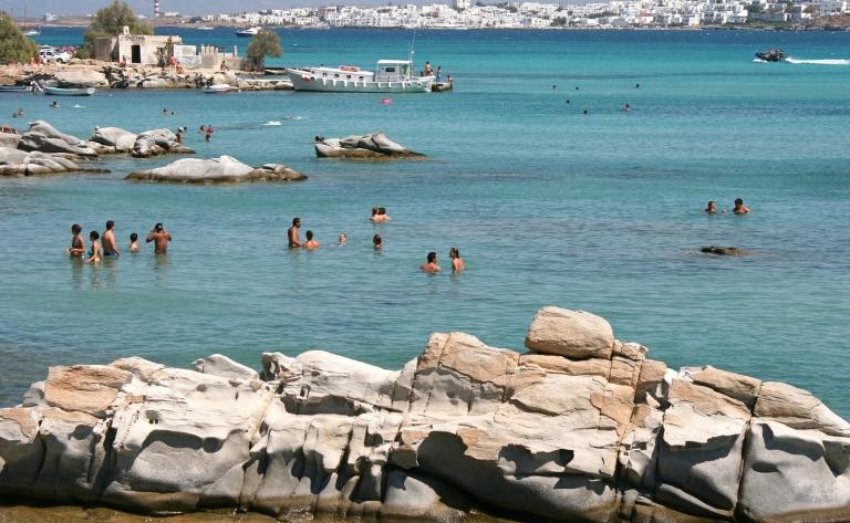 Croisière et baignade à Paros