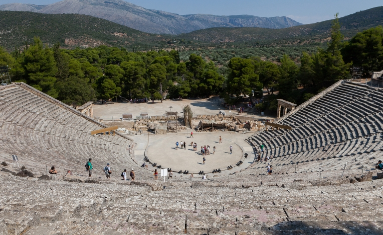 Epidaure et Mycènes
