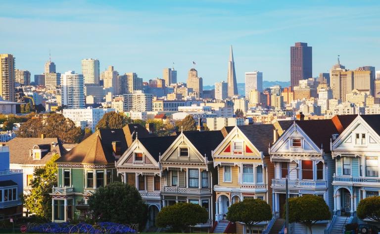 Visite privée de San Francisco: Quartier Latin (4h)